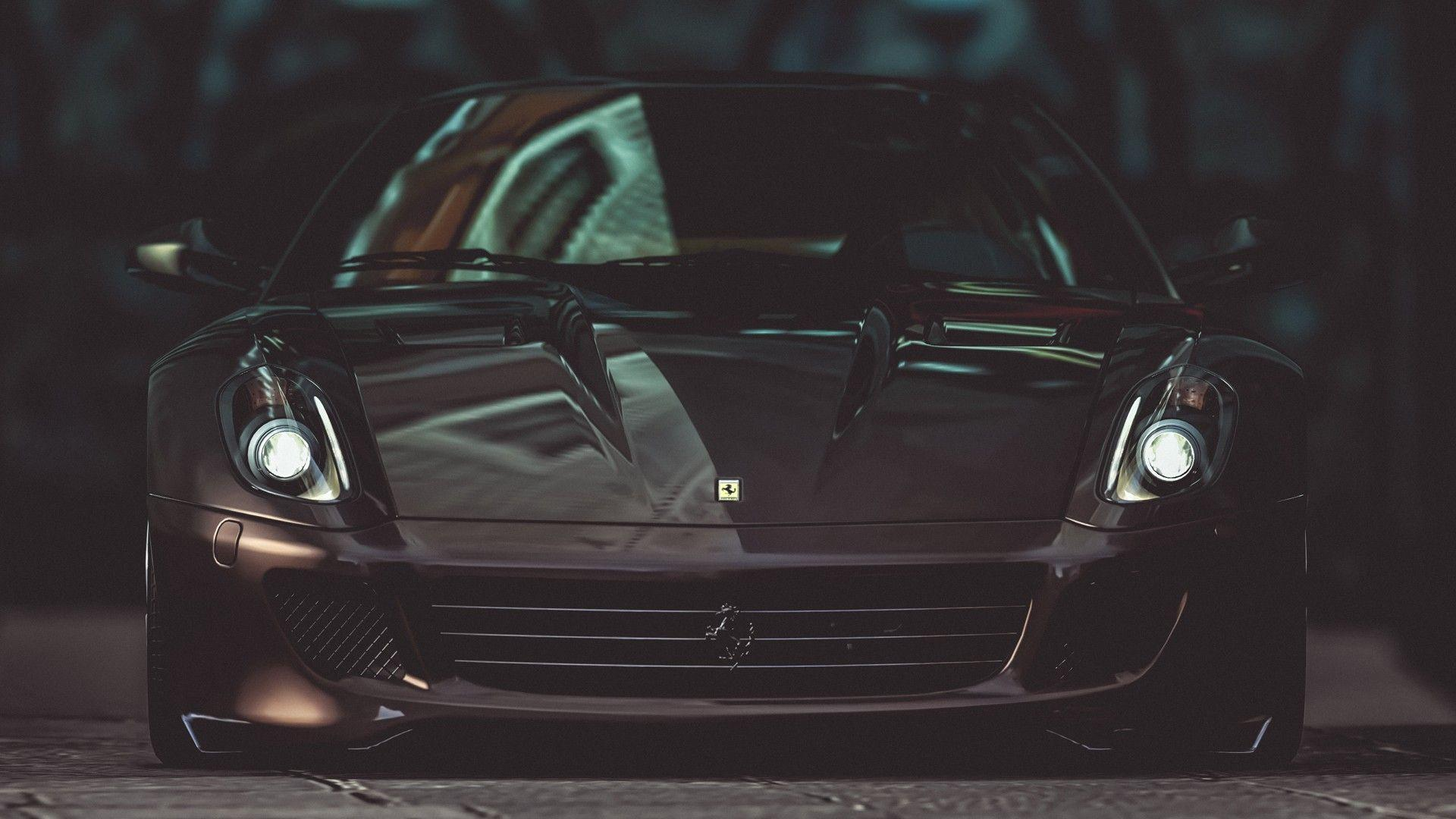 Black Ferrari Wallpaper   Cars Wallpapers (14633) Ilikewalls.