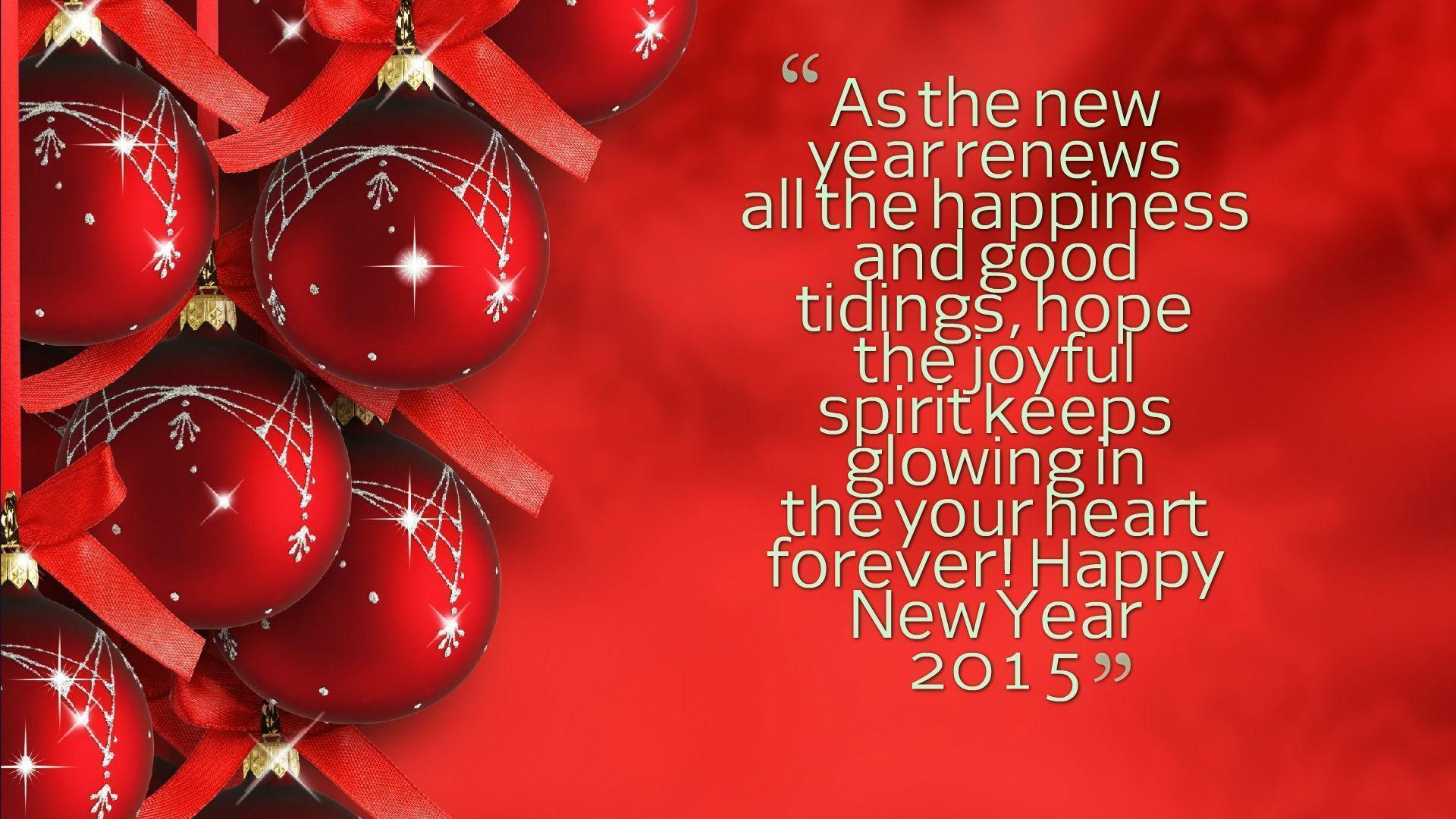 New Year 2015 Greetings Wallpapers Wallpaper Cave