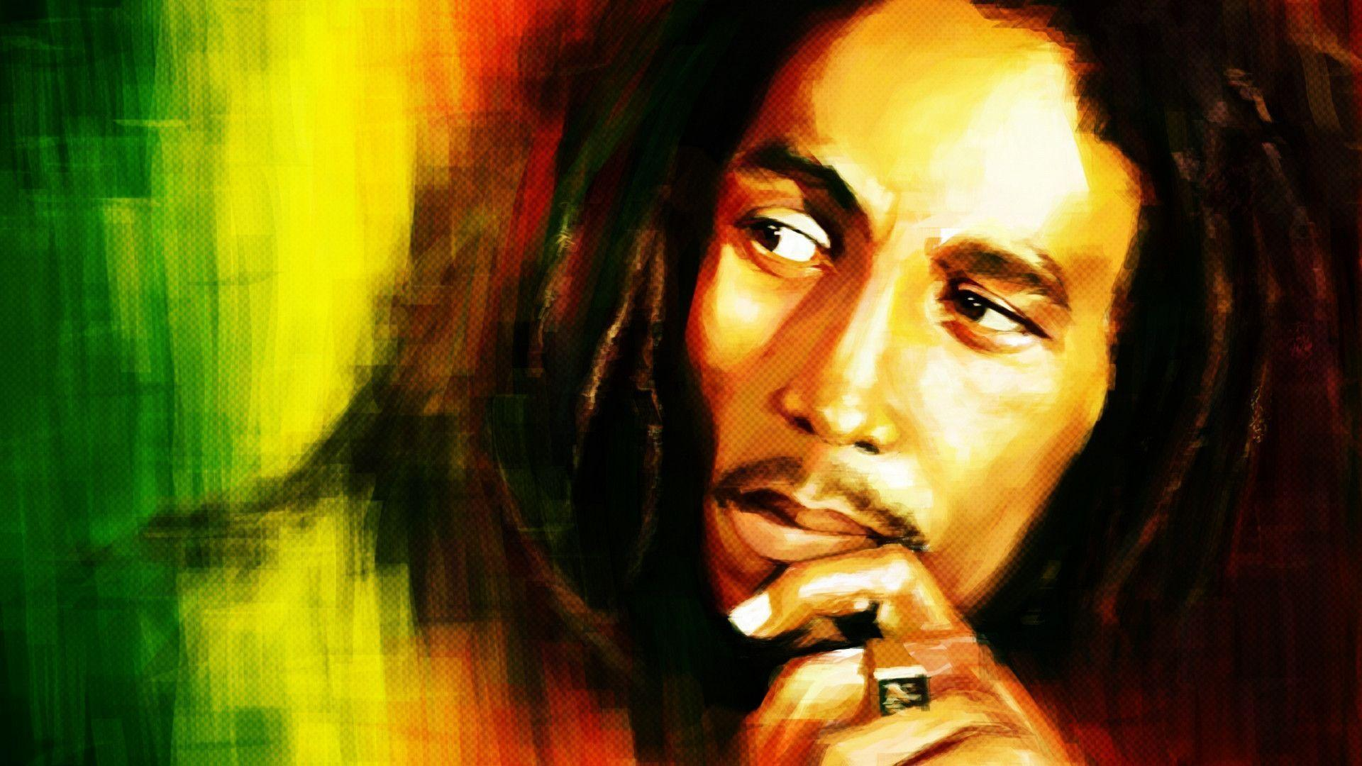 bob marley portrait hd wallpapers hd wallpapers