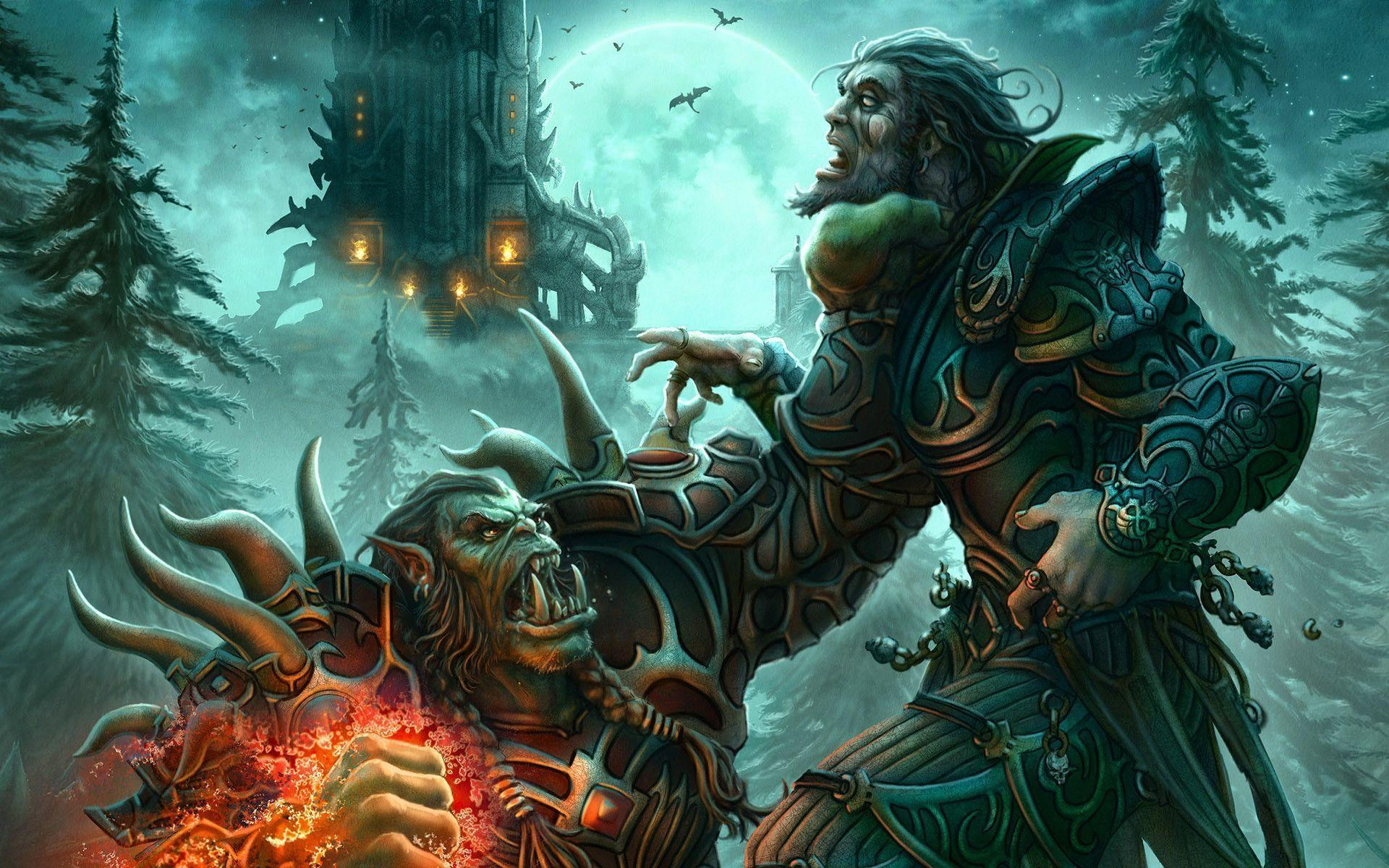 World Of Warcraft Orc Full HD Gaming Wallpaper #6627 HD Game ...