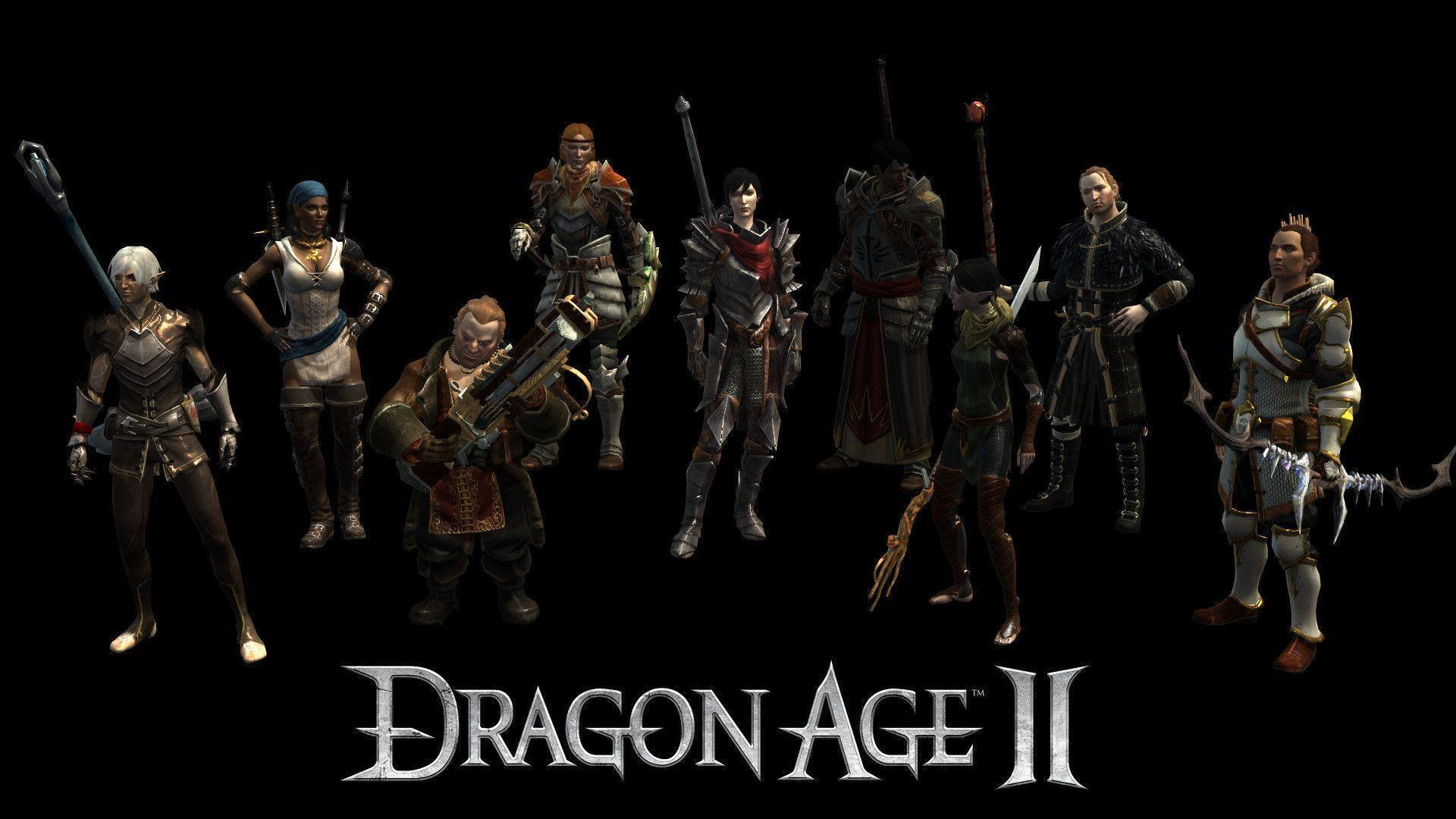 Dragon age 2 cover wallpapers 4