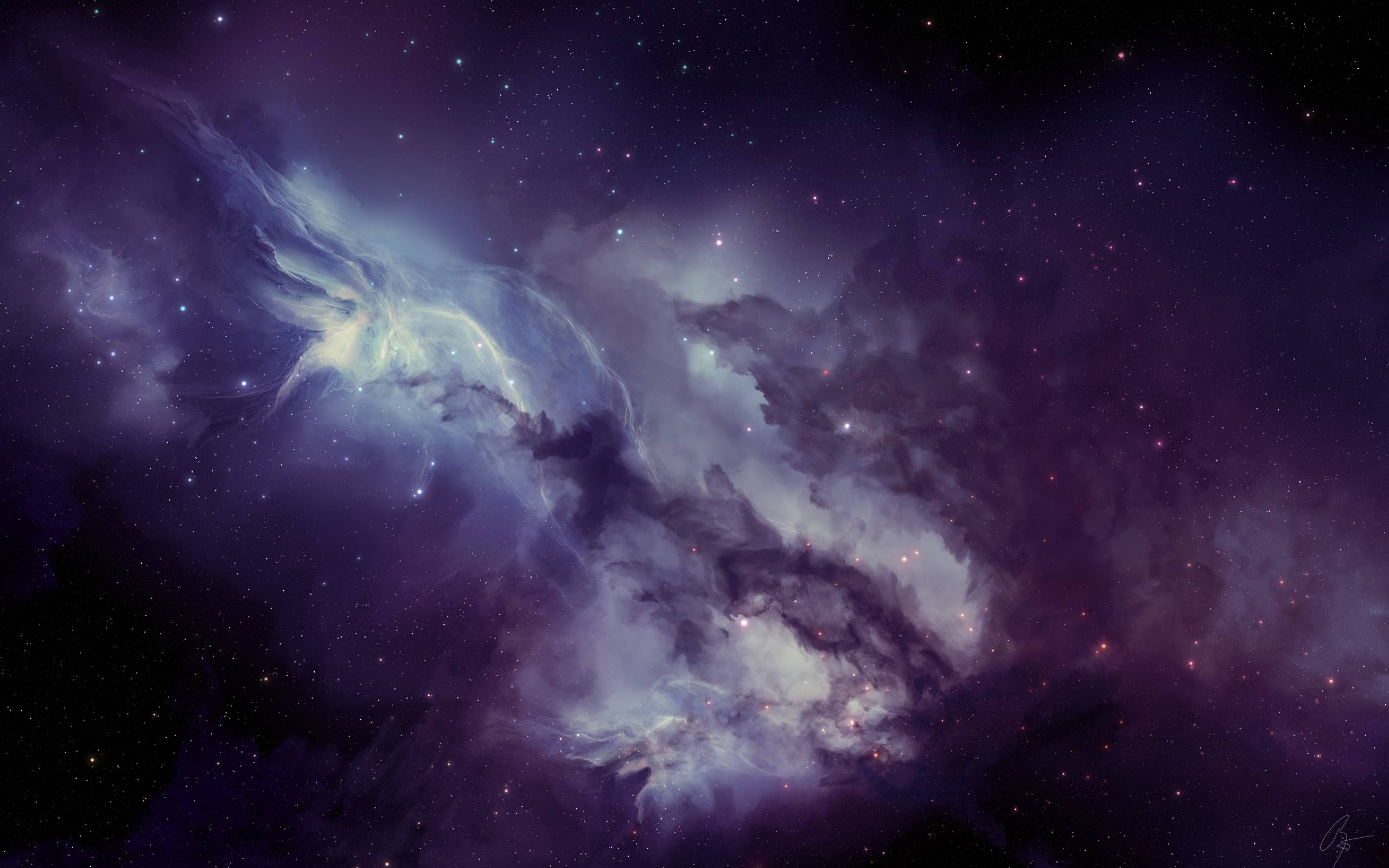 Galaxy Space Wallpaper For Android: Purple Galaxy Wallpapers