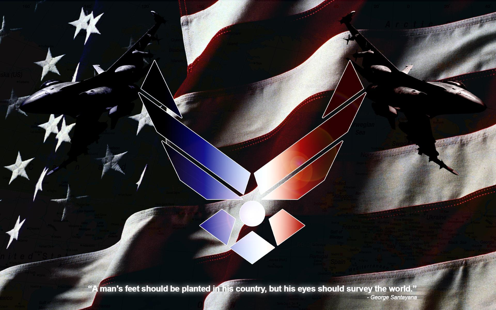 air force logo wallpapers wallpaper cave