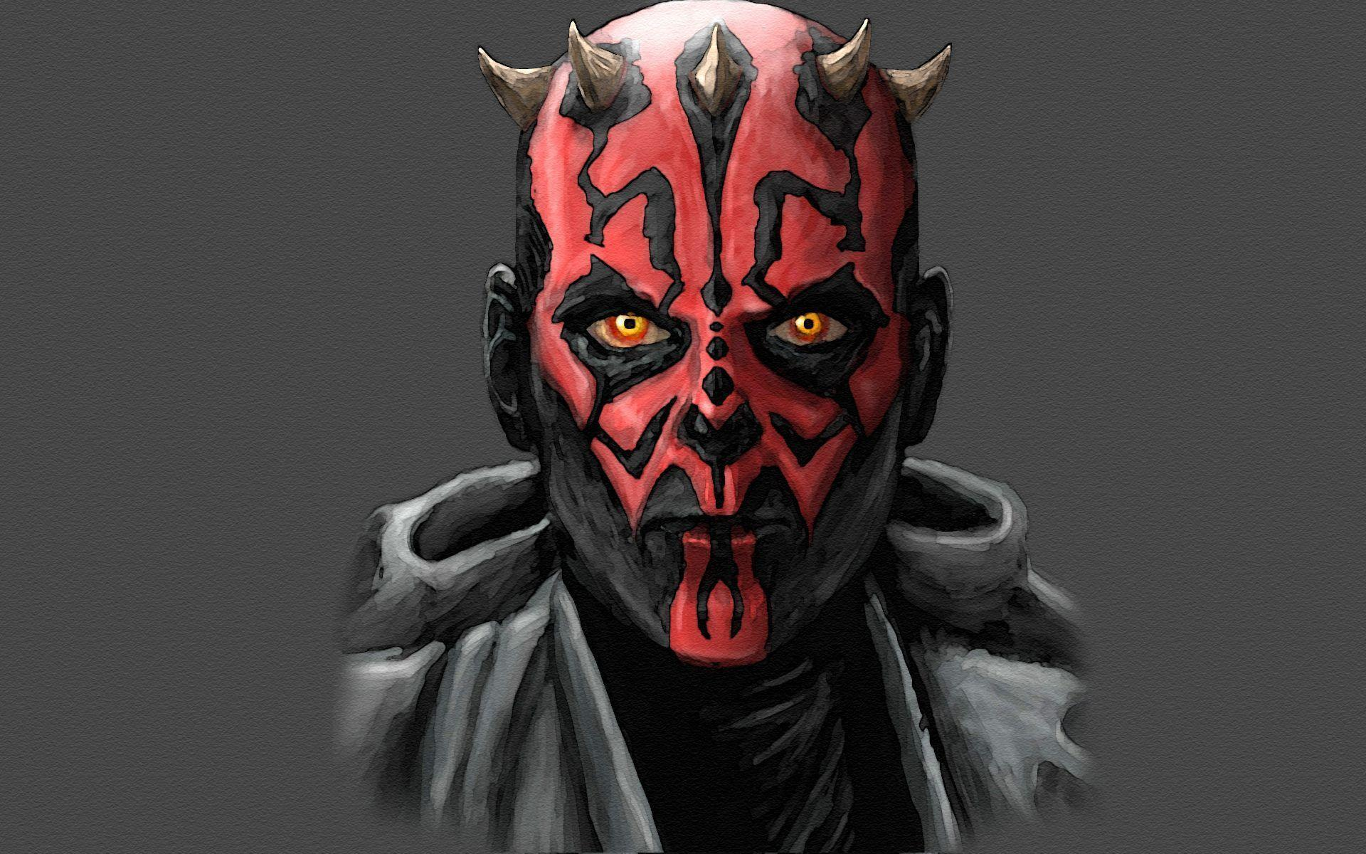 Star wars Sith Darth Maul movies wallpapers
