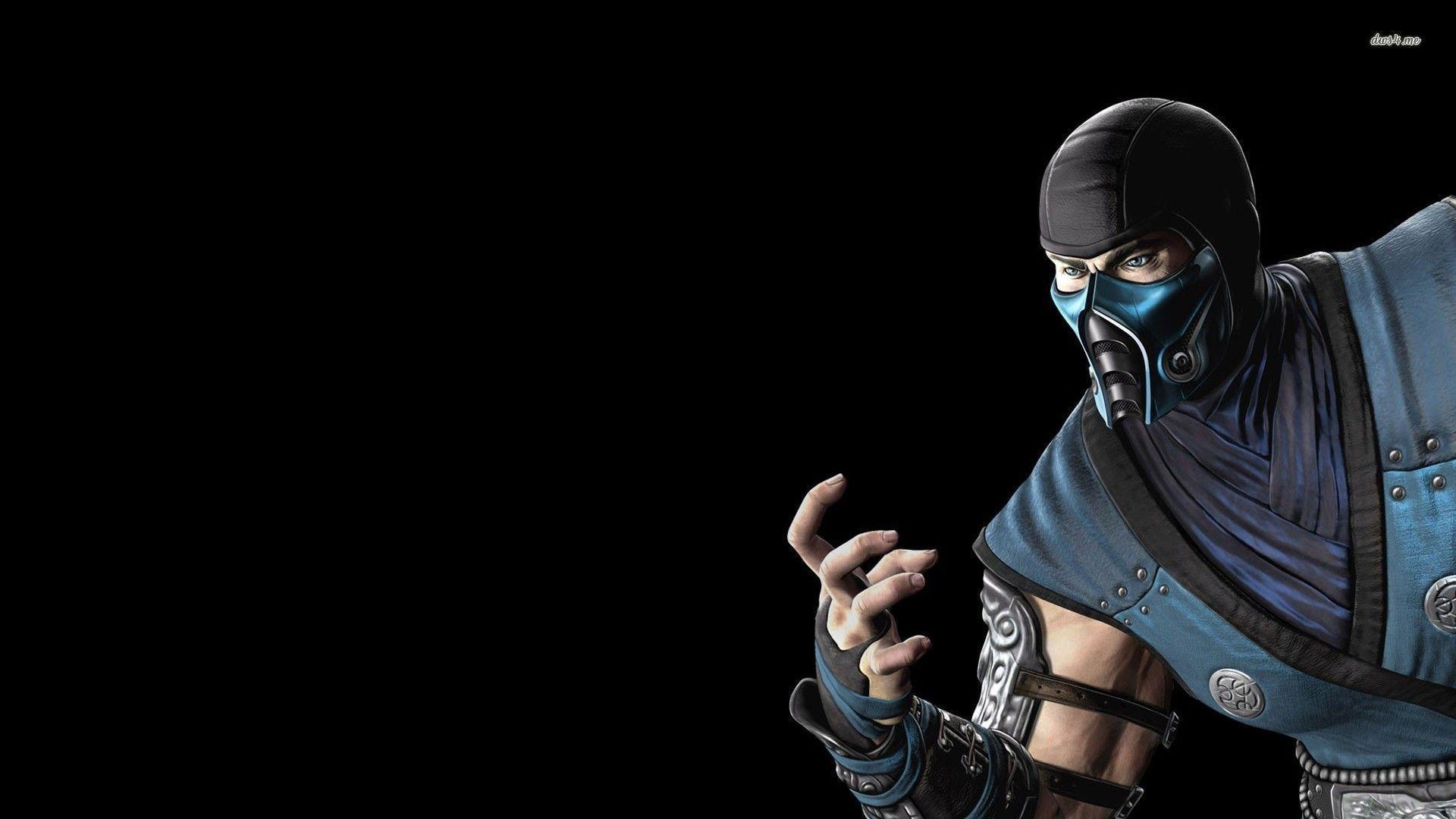 Mortal kombat wallpaper cyber sub zero