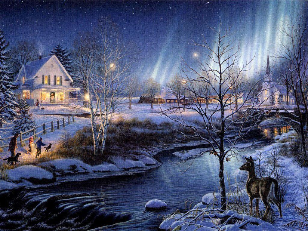 25 Beautiful Winter Wallpapers - Design Reviver - Web Design Blog