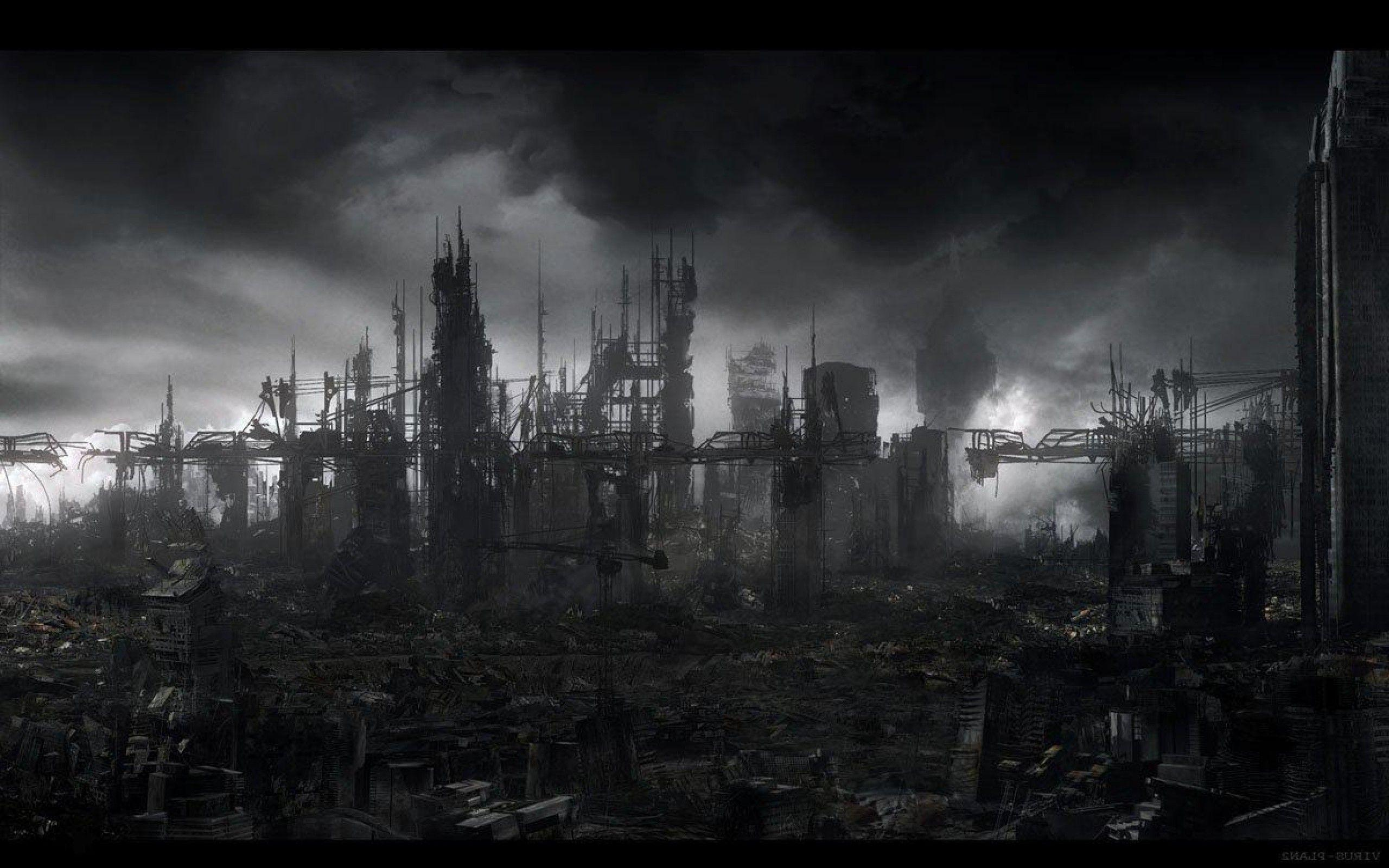 Image For > Destroyed City Wallpapers 1920x1080