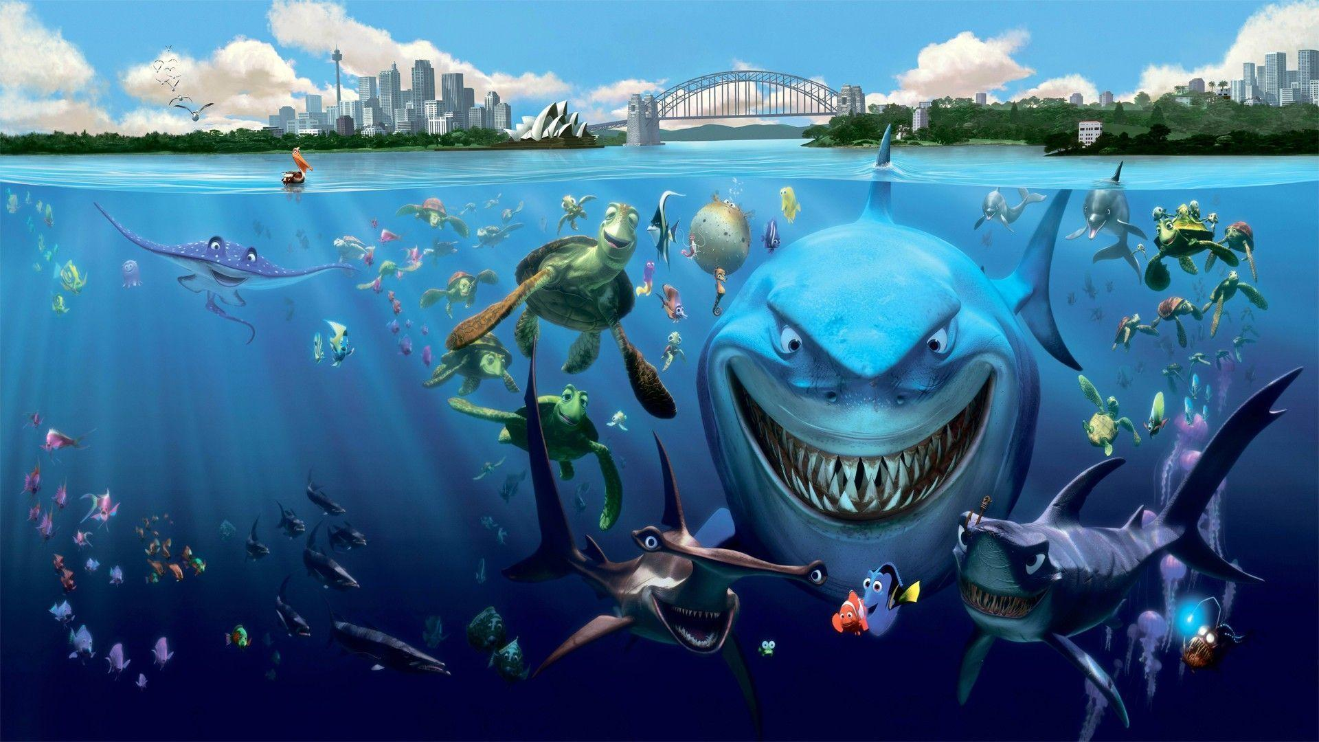 33 Finding Nemo Wallpapers