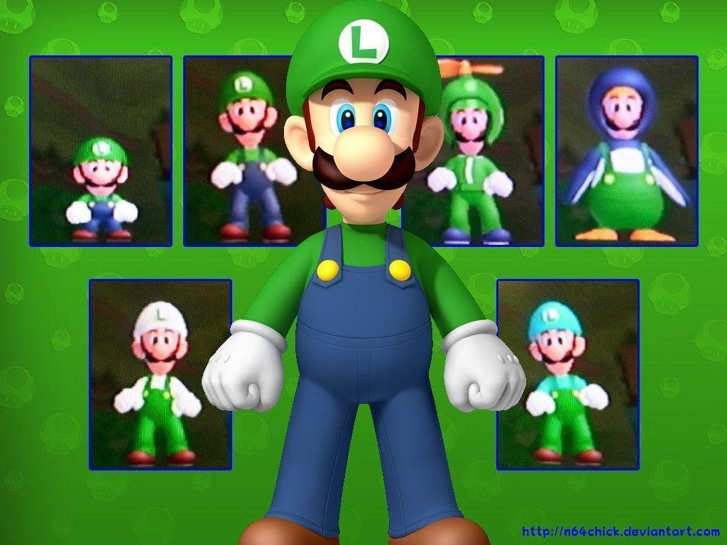 Mario and luigi backgrounds wallpaper cave luigi in new super mario bros wii luigi wallpaper 32209851 altavistaventures Gallery