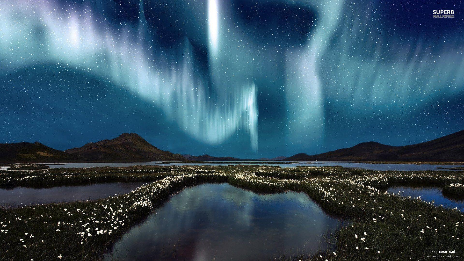 Alaska Northern Lights Wallpaper - WallpaperSafari   Alaska Northern Lights Wallpaper