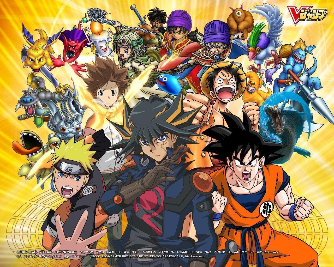 Goku Luffy Naruto Ichigo Natsu Fusion | www.pixshark.com ...
