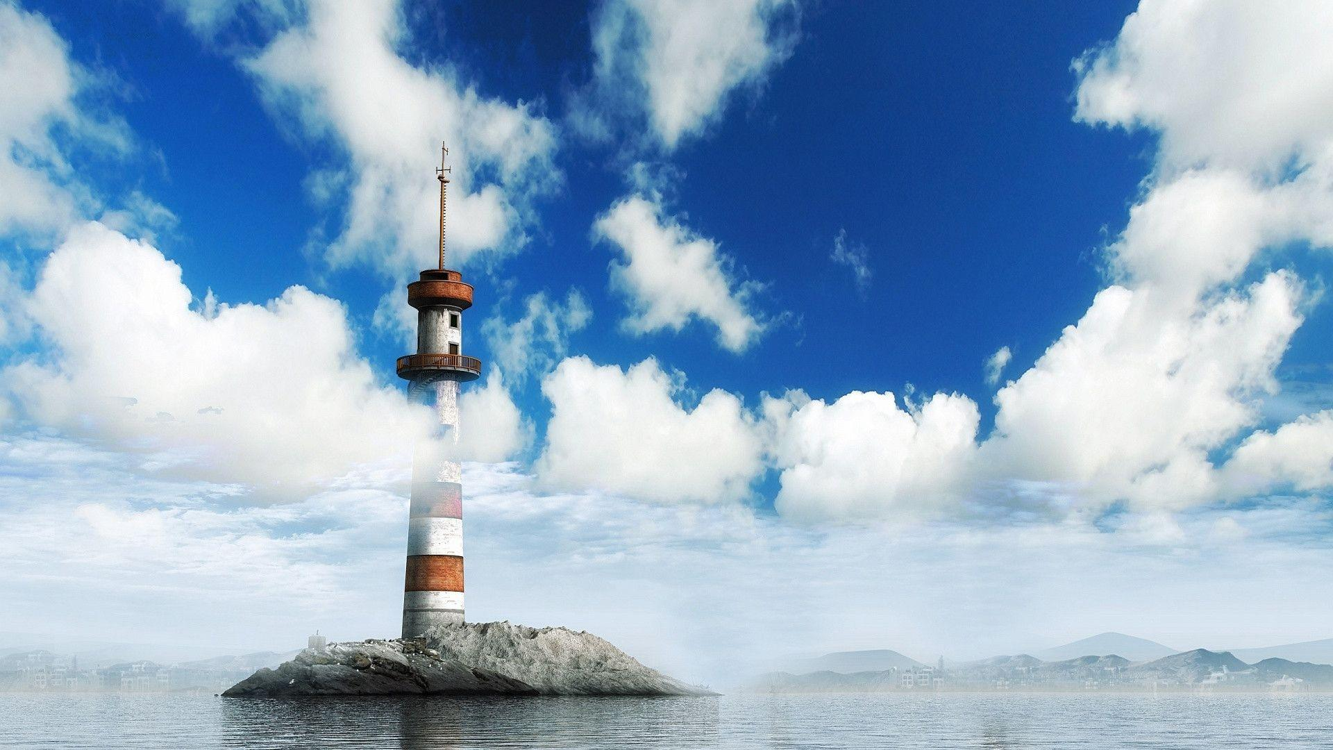 1920x1080 A Lighthouse Wallpapers