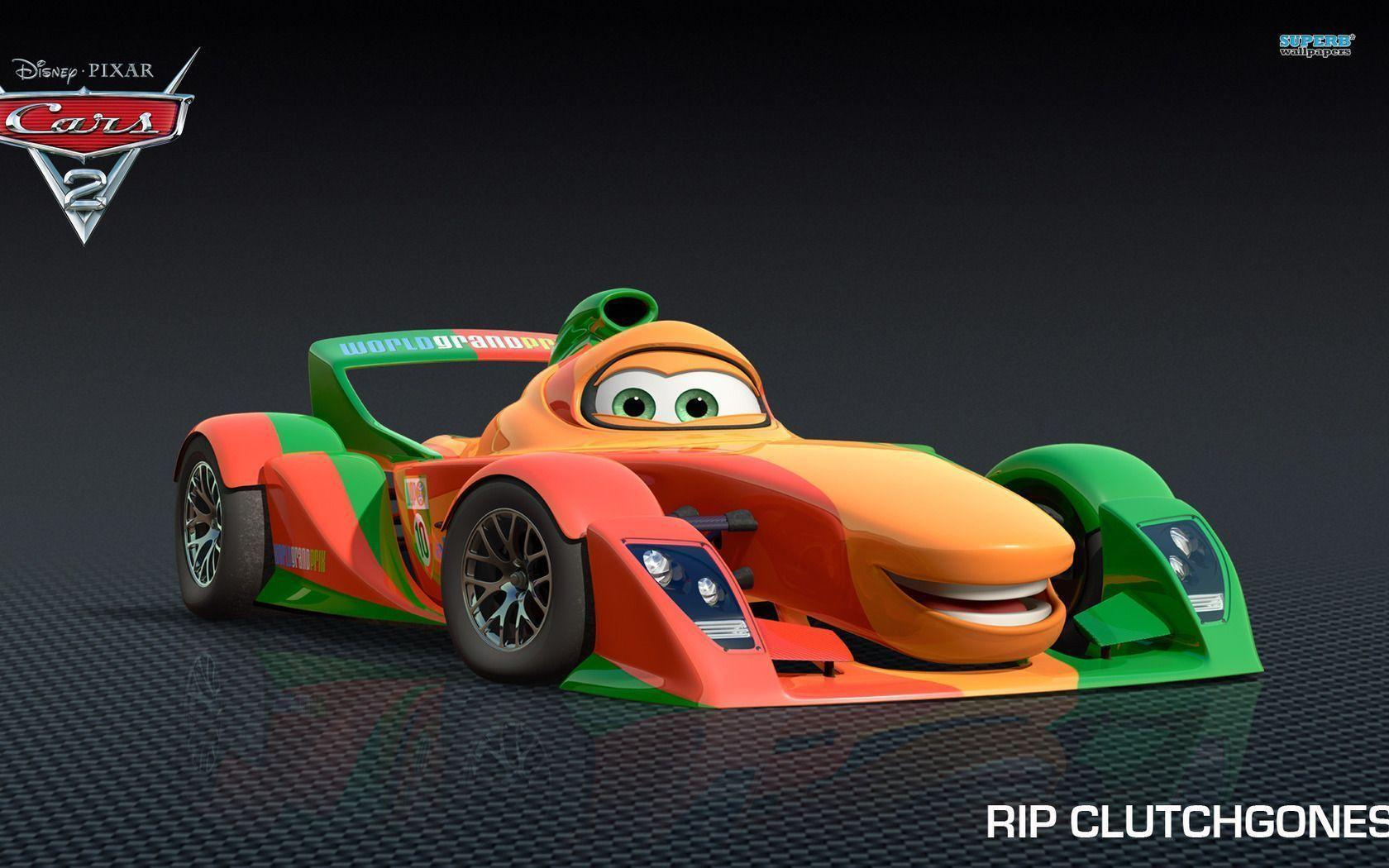Rip Clutchgoneski - Cars 2 wallpaper - Cartoon wallpapers - #