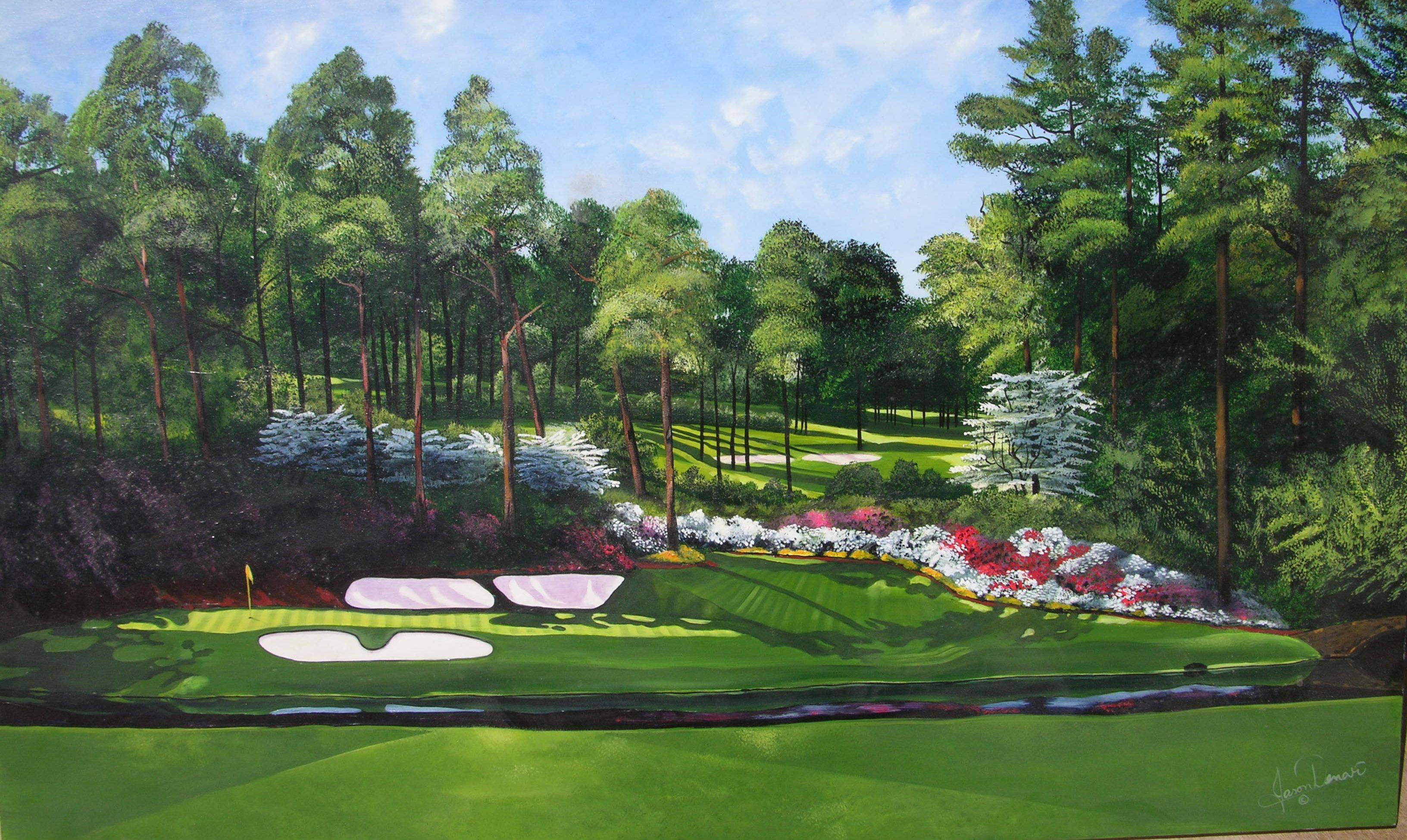 Augusta National Golf Club Wallpapers - Wallpaper Cave
