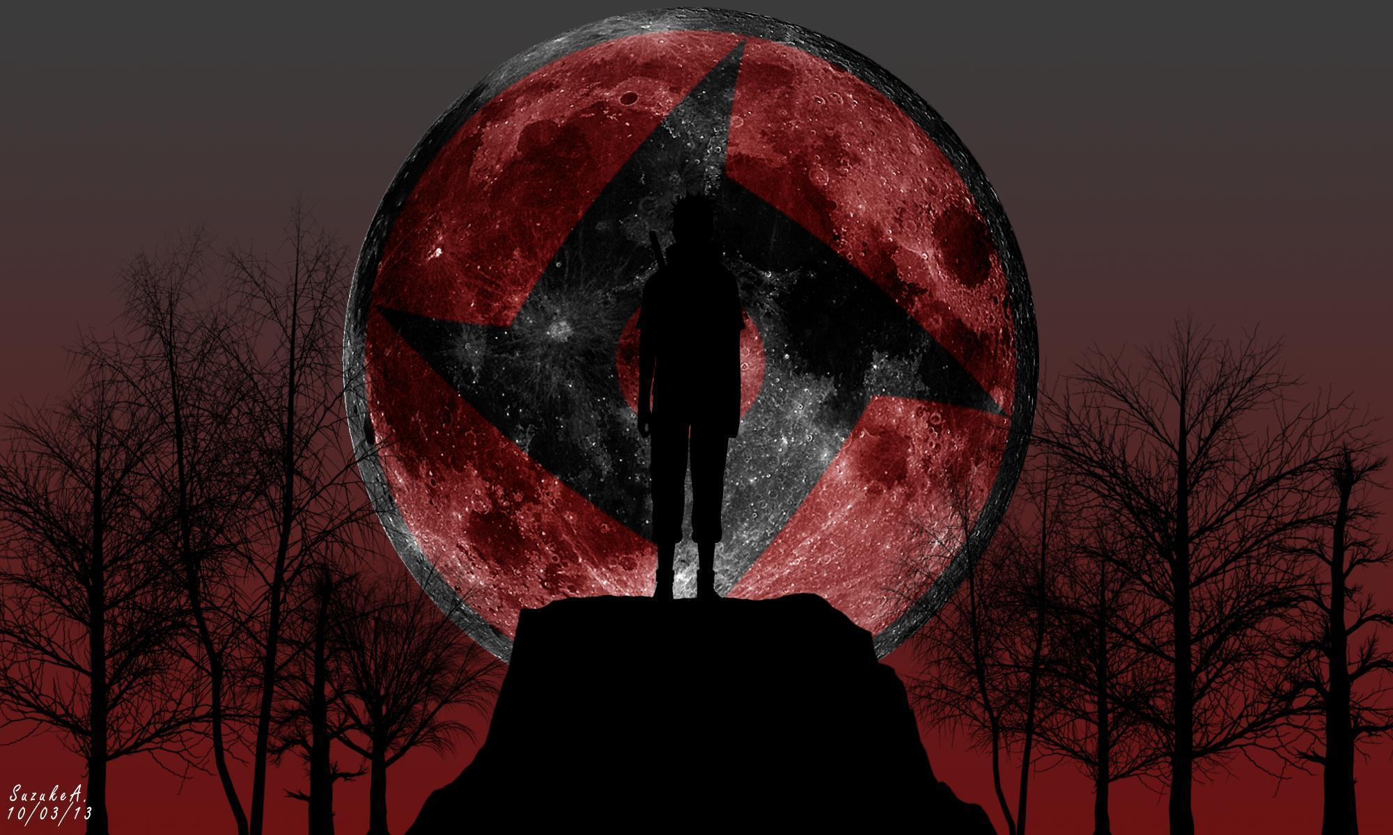 Wallpapers For Itachi Uchiha Mangekyou Sharingan Wallpaper