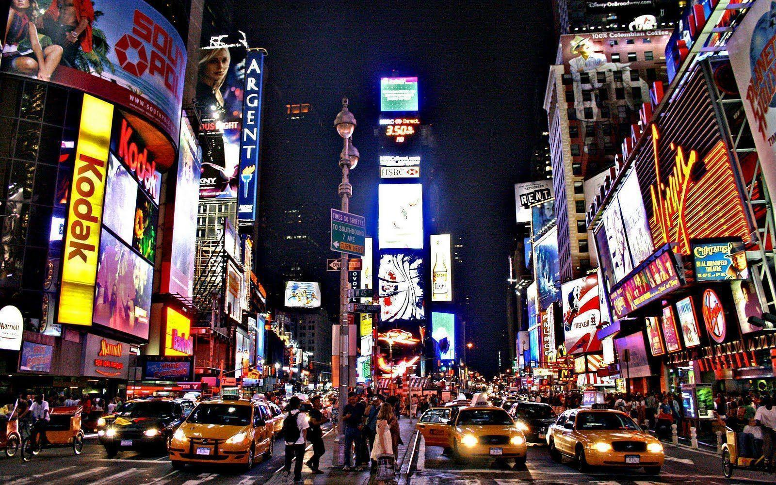 New york city desktop backgrounds wallpaper cave - Times square background ...