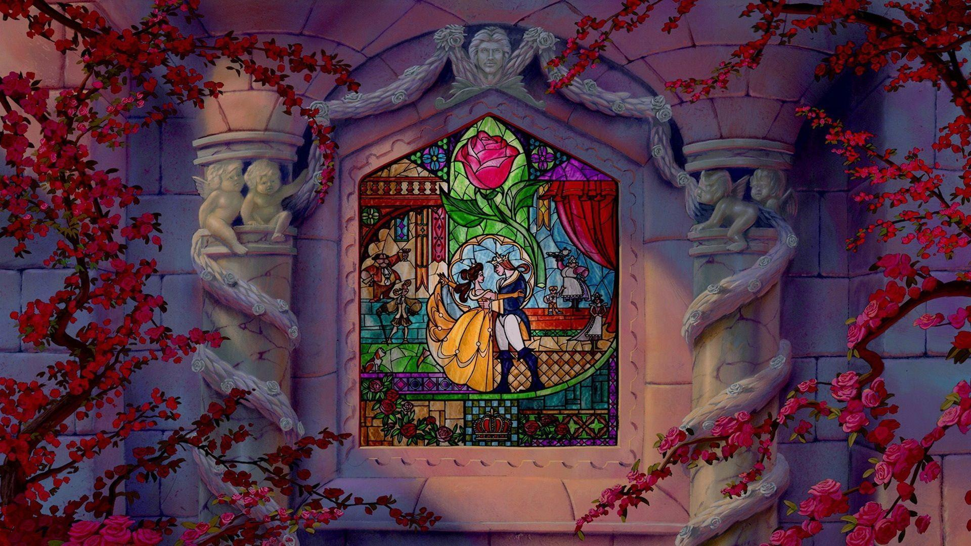 Trends For Disneys Beauty And The Beast Wallpaper
