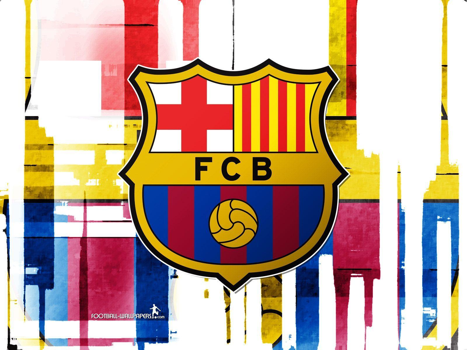 Fc barcelona logo wallpapers wallpaper cave - Logo barcelone foot ...