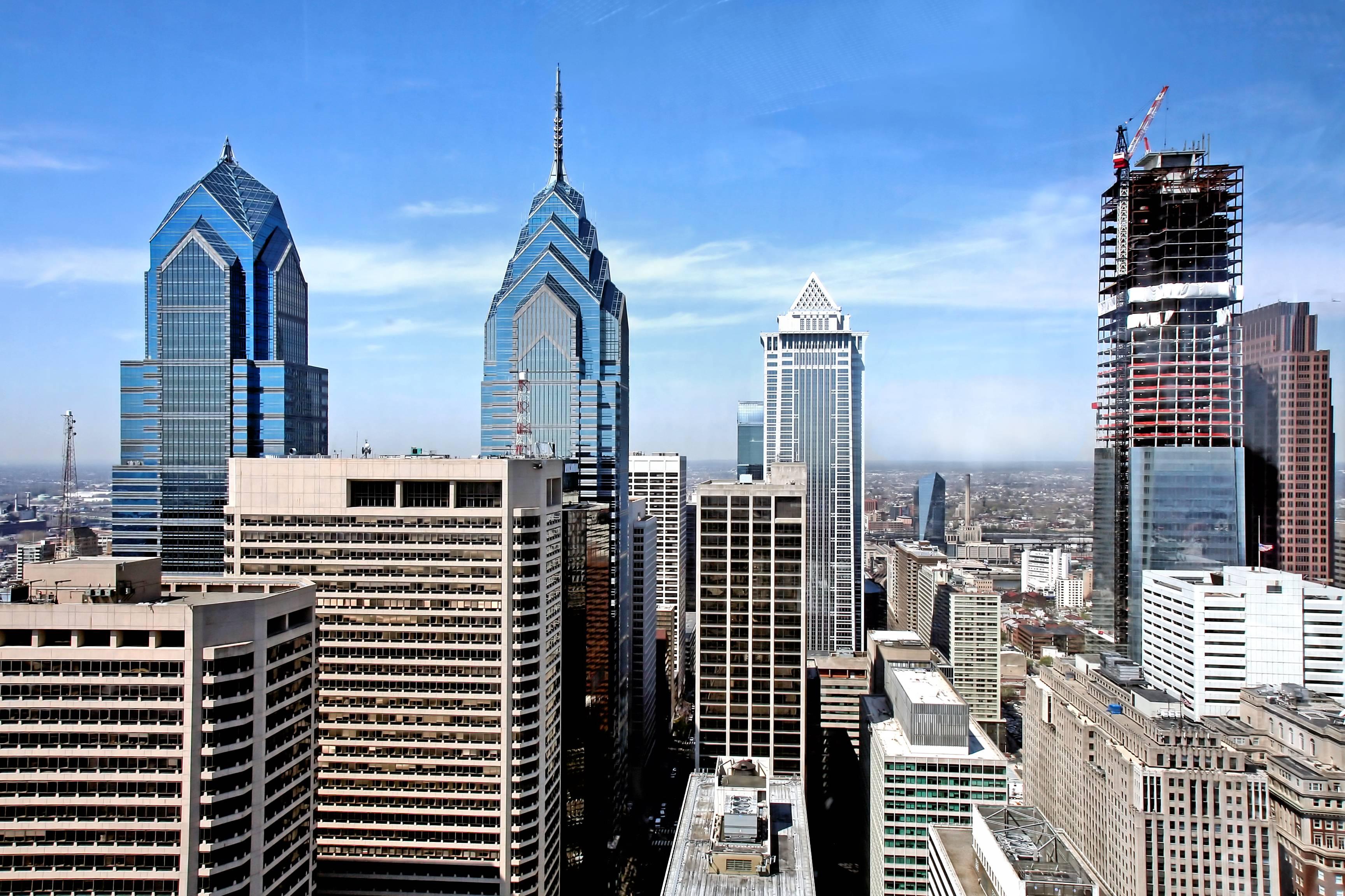 Philadelphia Skyline Wallpapers  Wallpaper Cave