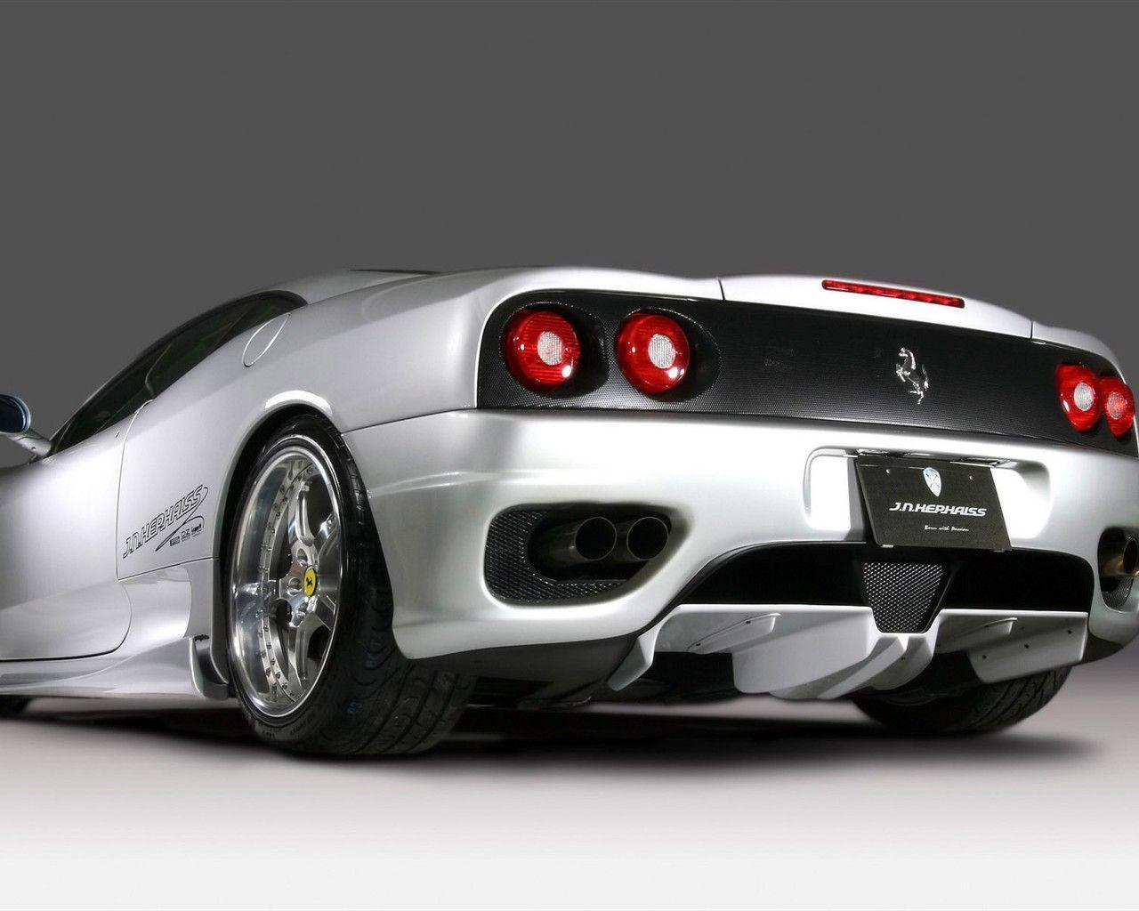 White Ferrari F430 Wallpapers and Backgrounds