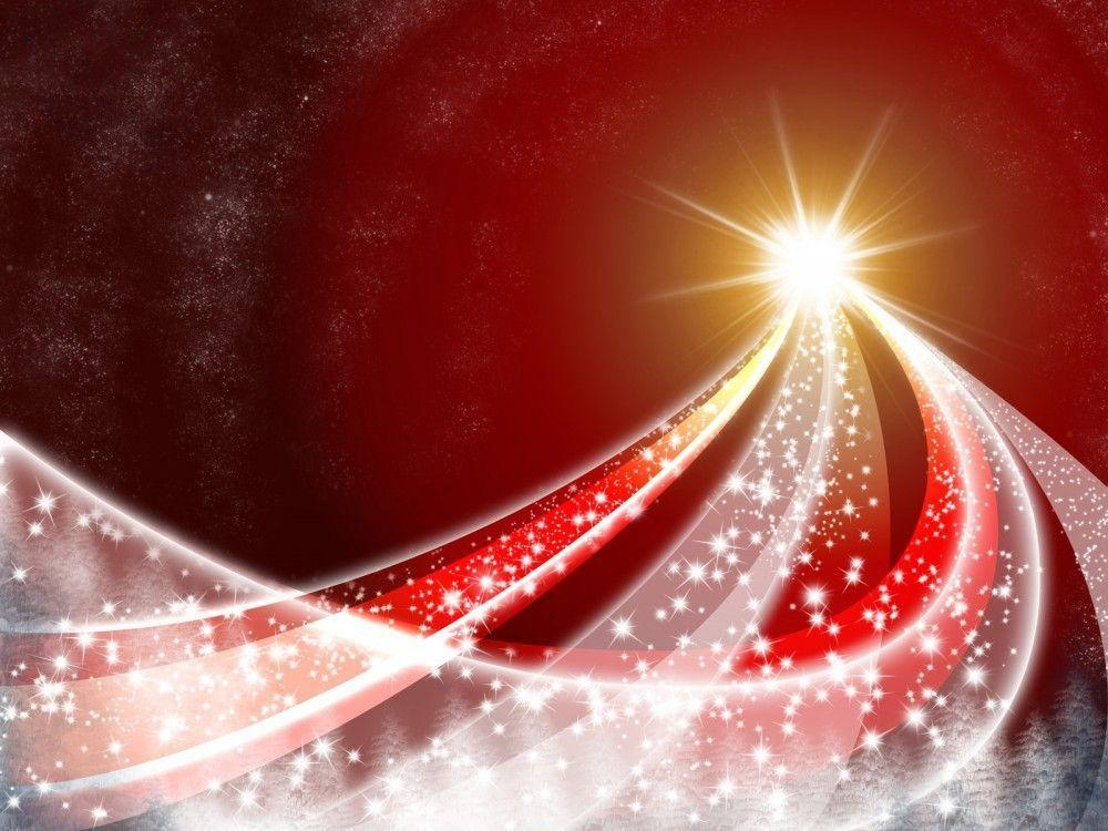 Christmas Abstract Snowy PPT Backgrounds - Abstract, Christmas ...