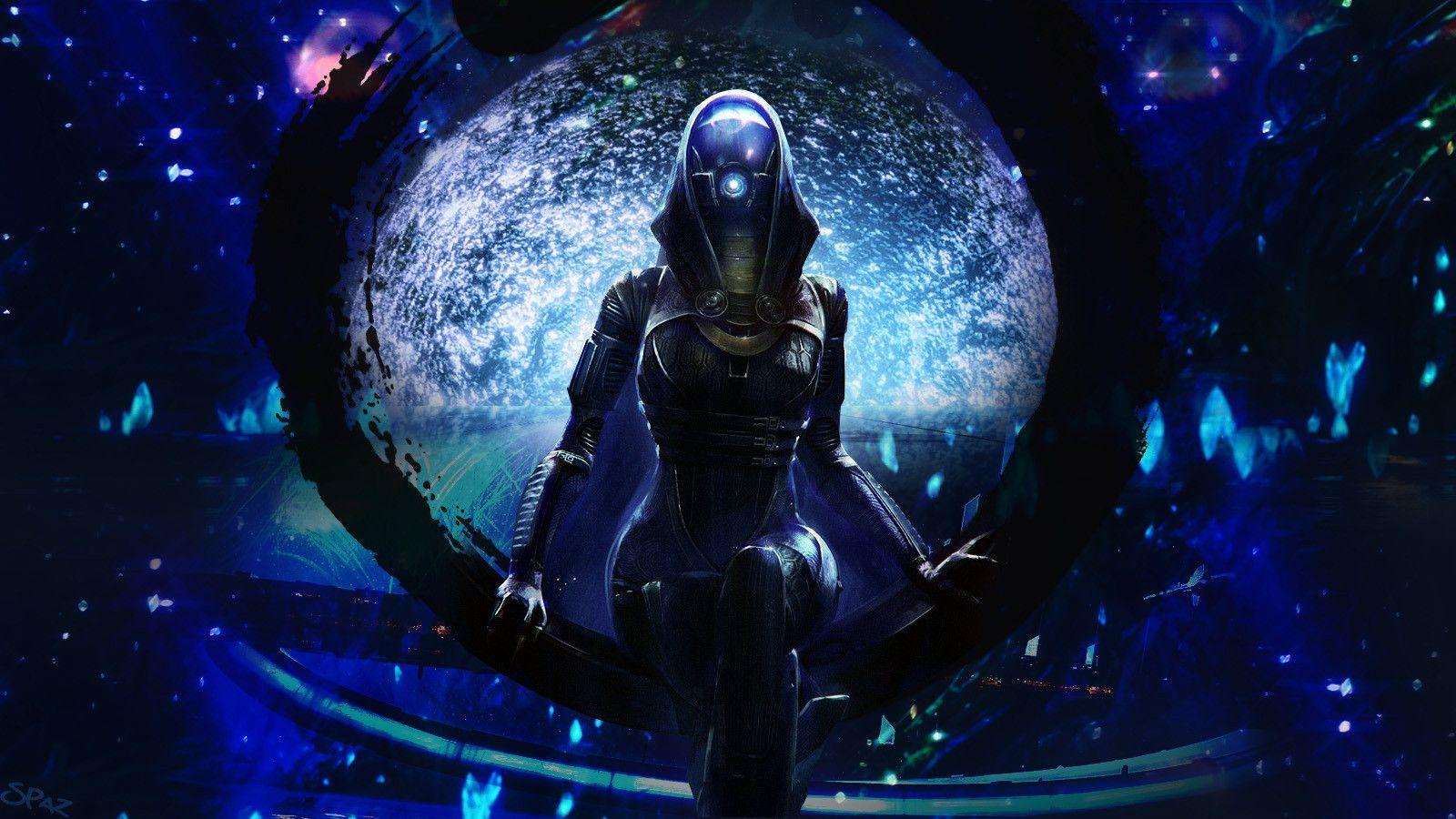 Mass Effect Tali Wallpapers Wallpaper Cave