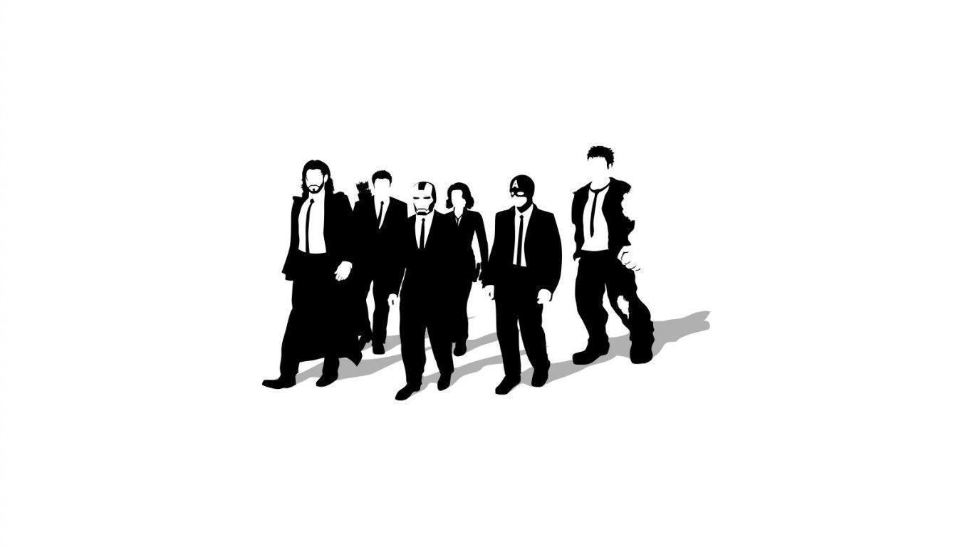 Reservoir dogs the avengers Wallpaper 1366x768  Hot HD Wallpaper