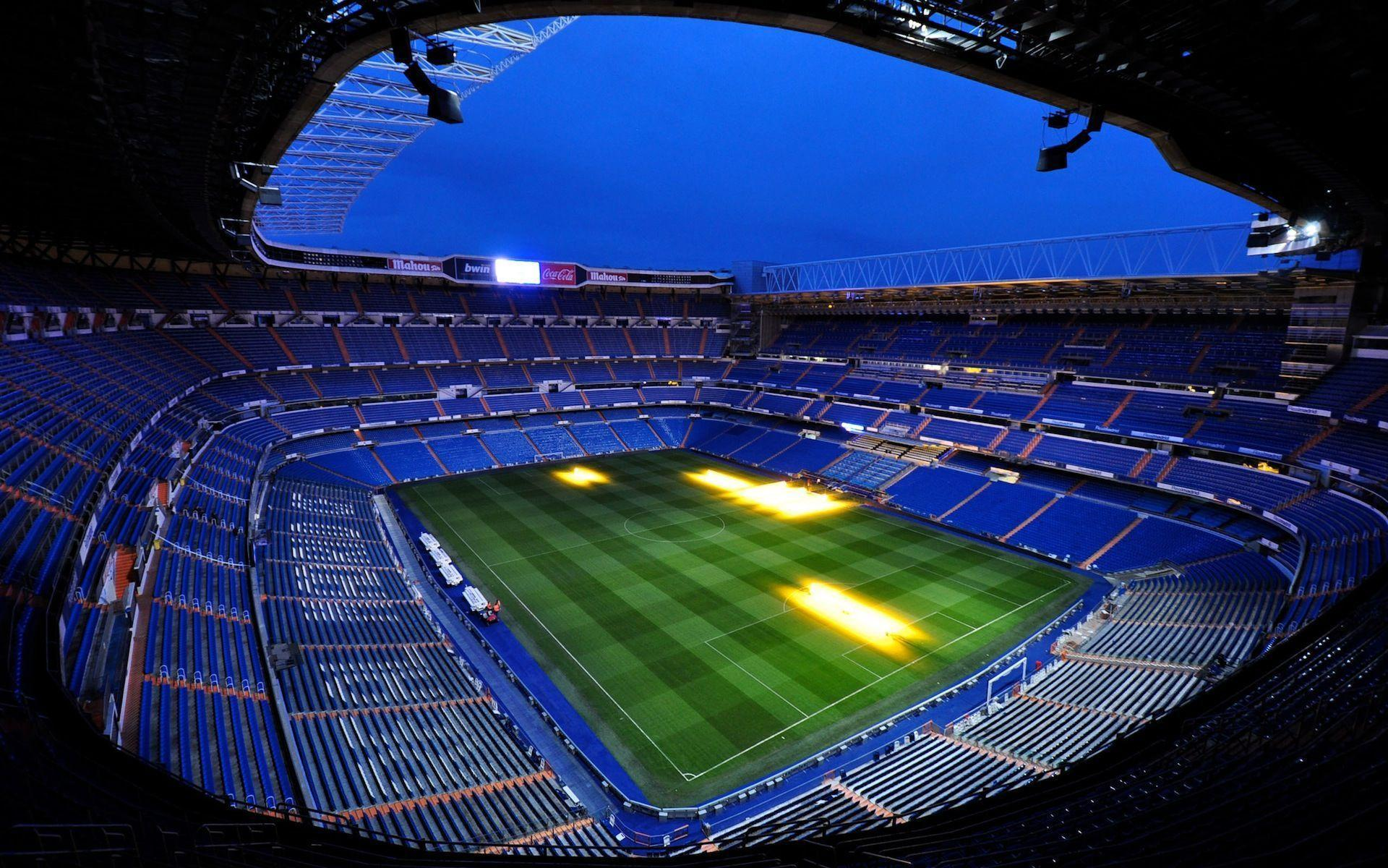 Santiago Bernabeu Real Madrid Stadium HD Wallpaper