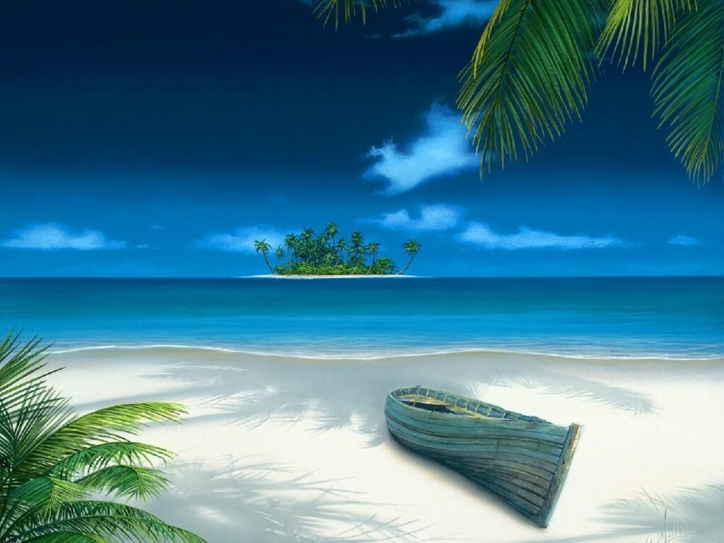 3D Beach Wallpapers - Wallpaper Cave