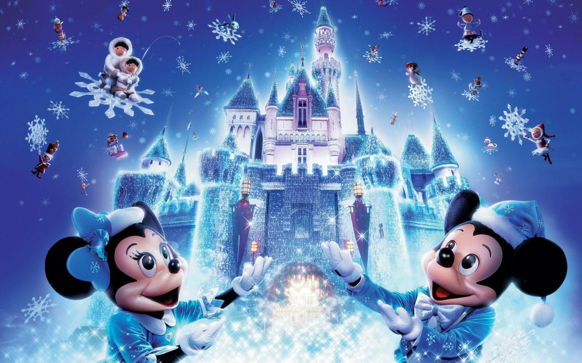 Disney Christmas Wallpapers - Wallpaper Cave