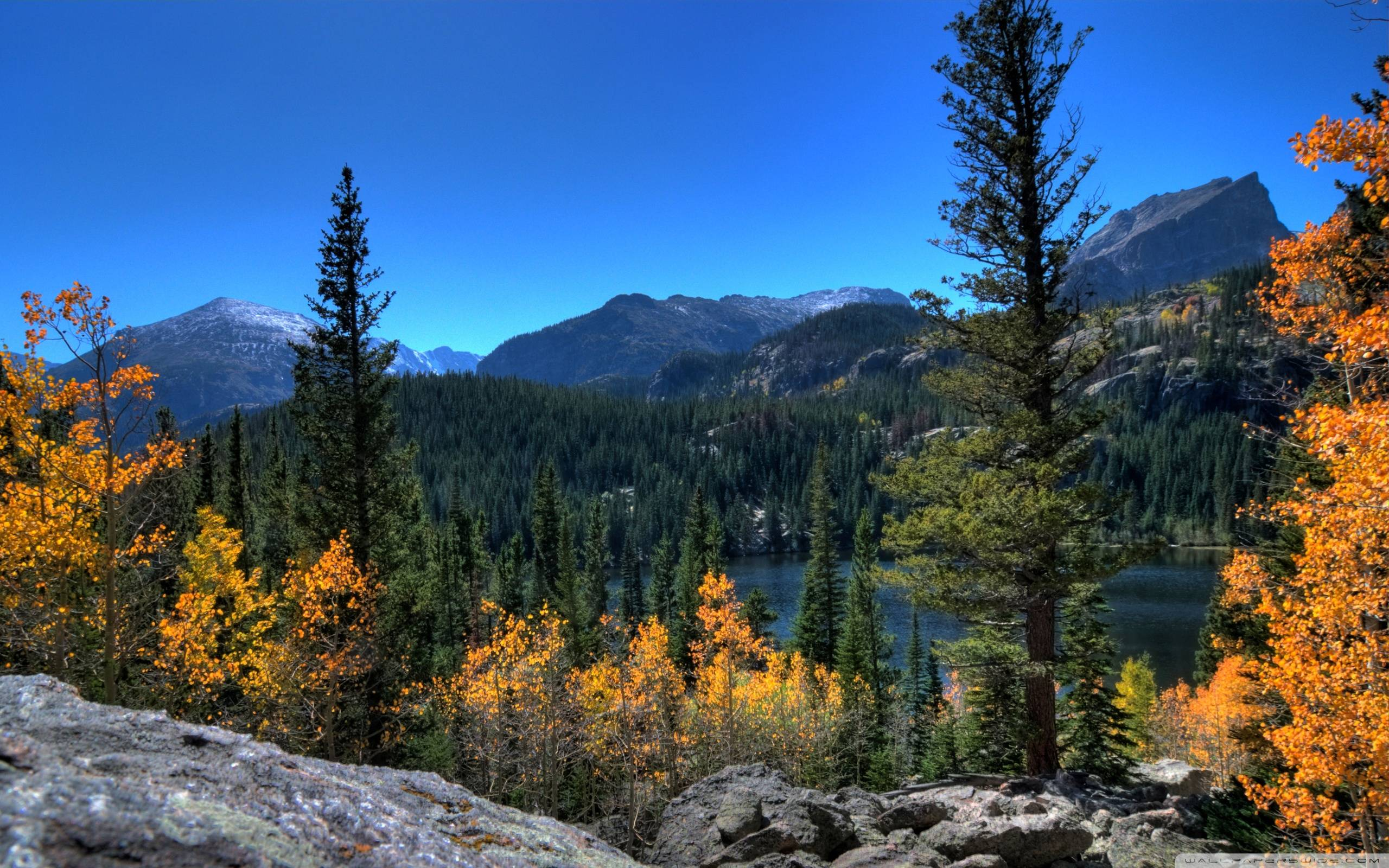 rocky mountains beauty places