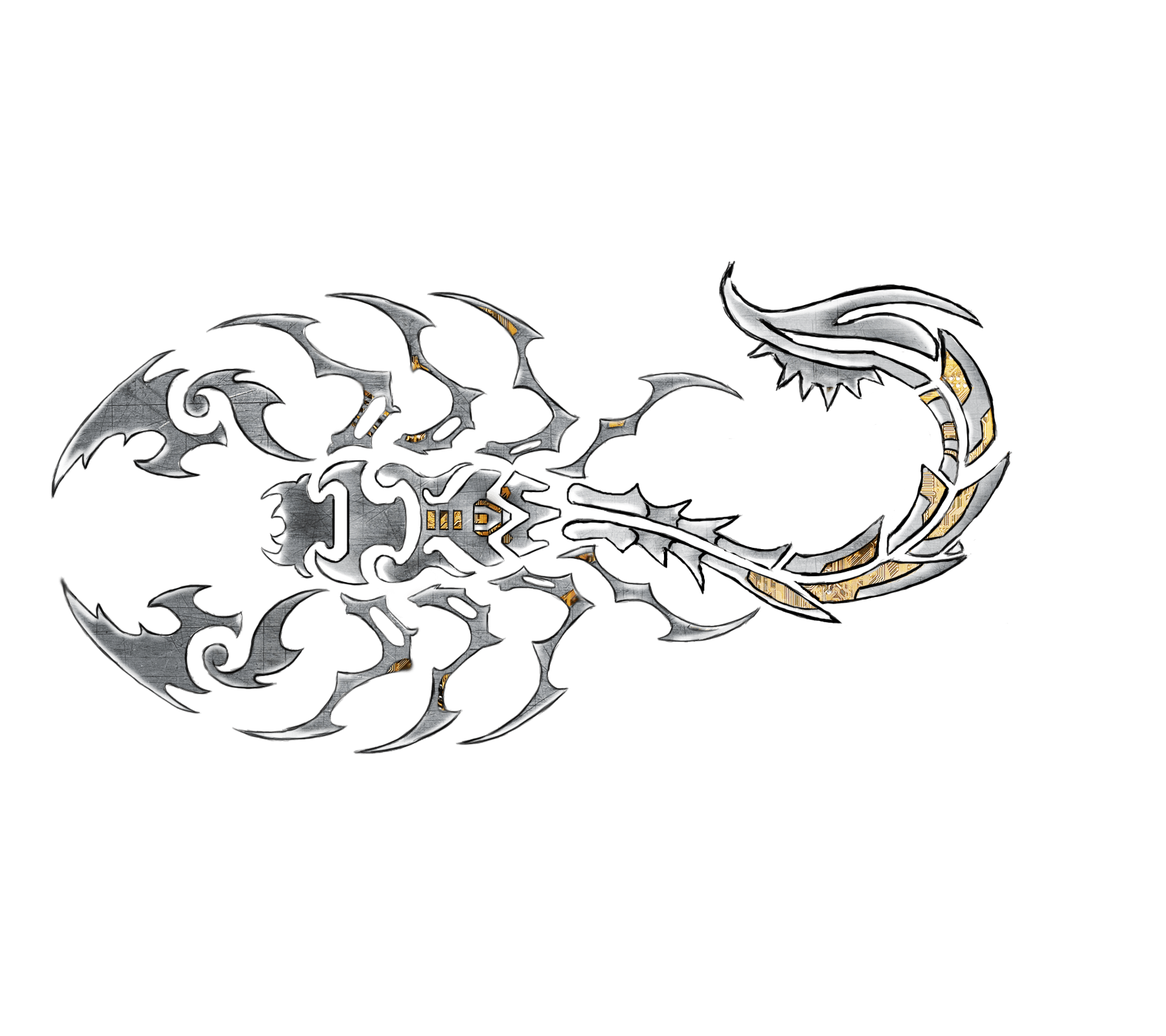 Cool Wallpapers Scorpion Tribal Tattoo Backgrounds, Wallpapers, HD