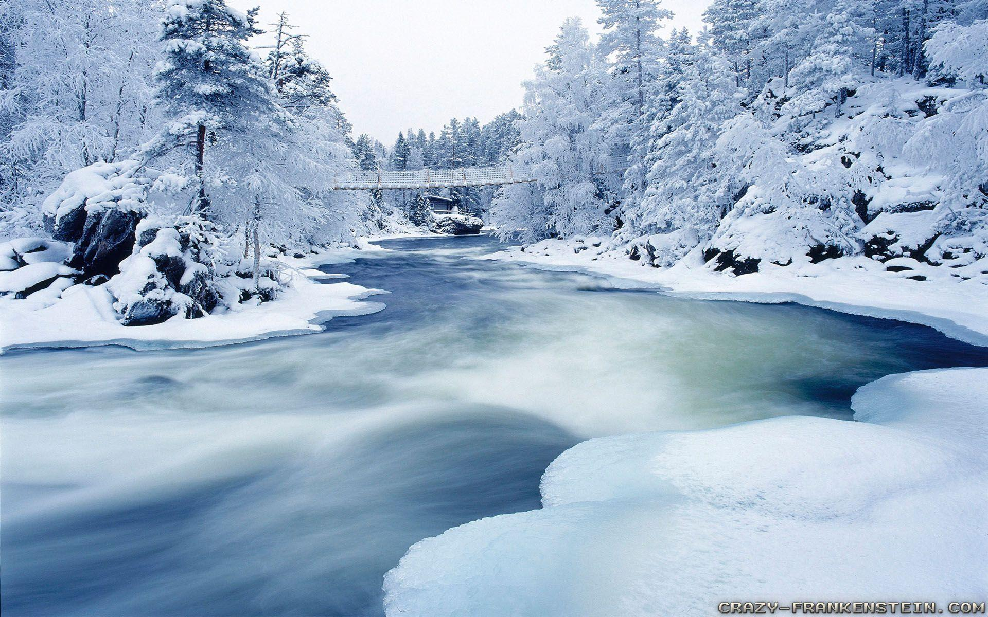 Winter Landscape Wallpapers - Wallpaper Cave