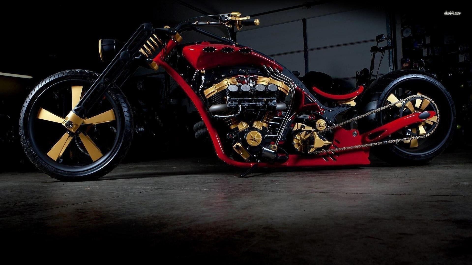Custom Chopper Wallpapers  Wallpaper Cave