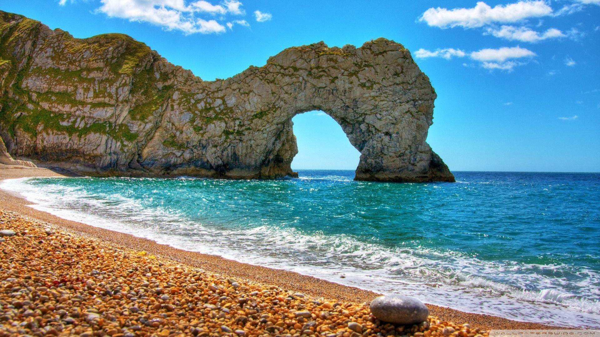 Download Durdle Door Beach Wallpapers 1920x1080