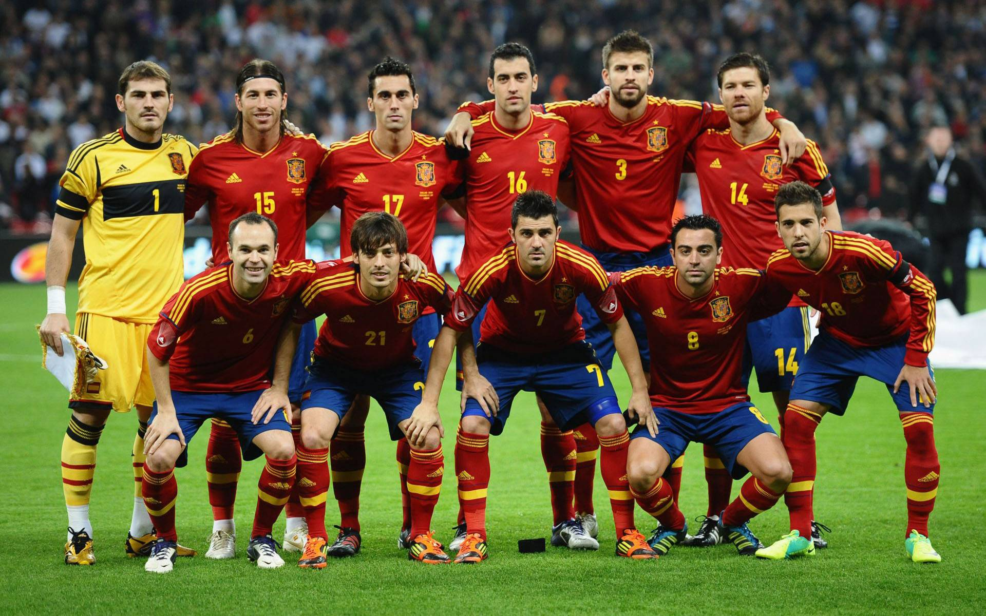 Spain National Team Live Wallpaper - Free Android Application .