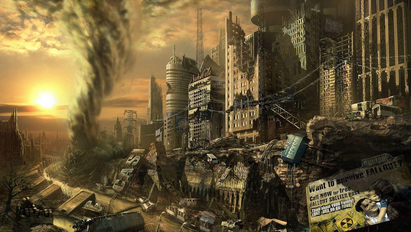 Image For > Ruined City Wallpapers
