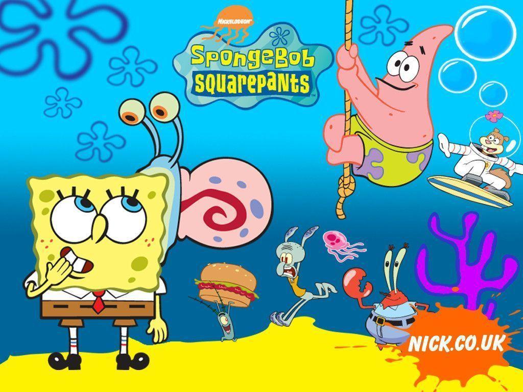 Spongebob Desktop Wallpapers Wallpaper Cave