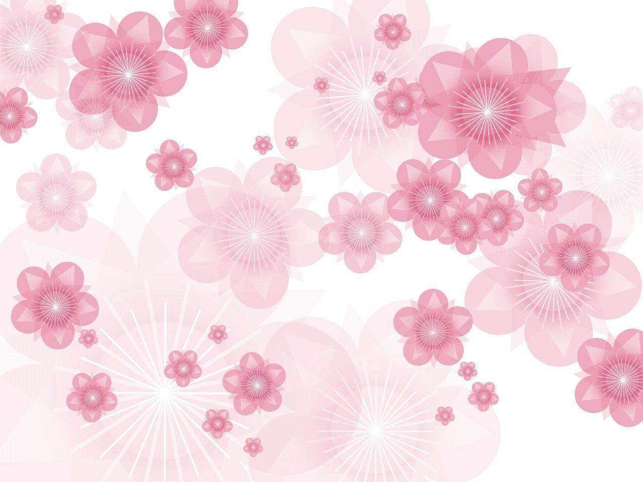Pink Flowers Backgrounds Wallpaper Cave