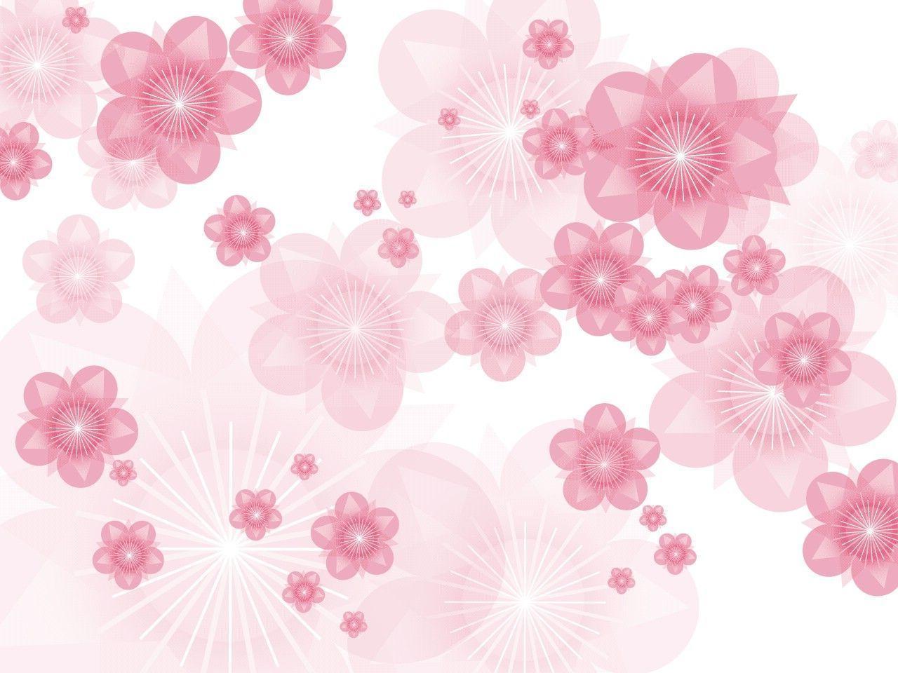Flower Background Pink Hd