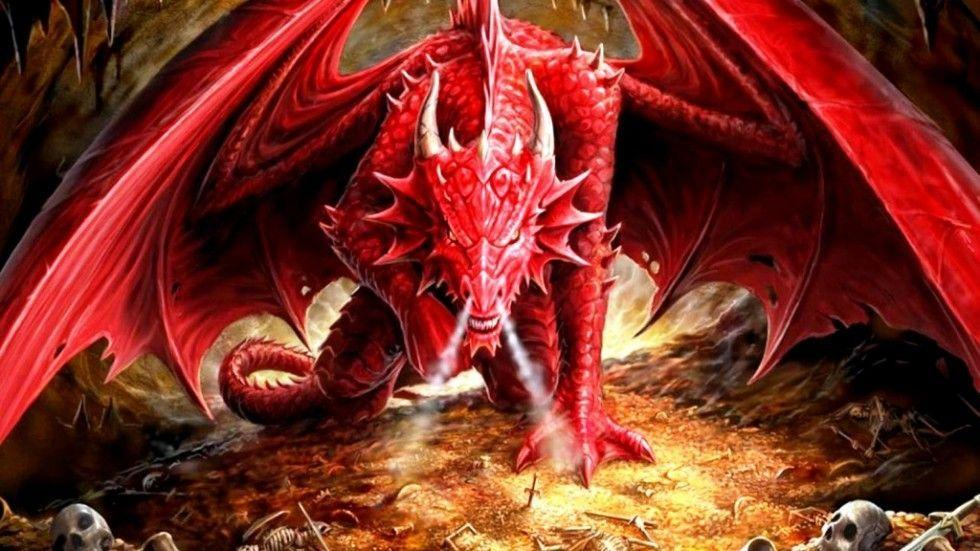 red dragons wallpaper - photo #18