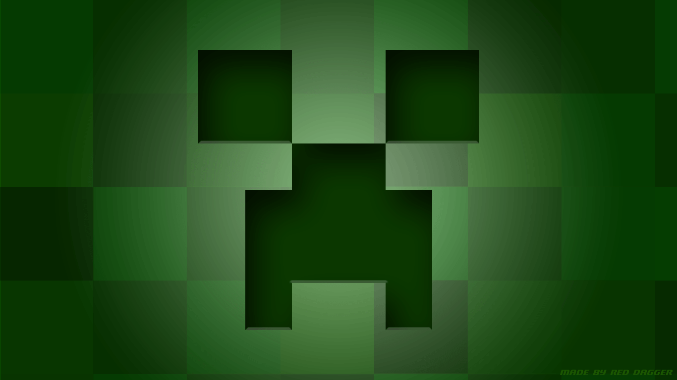 Wallpapers For > Minecraft Creeper Wallpaper