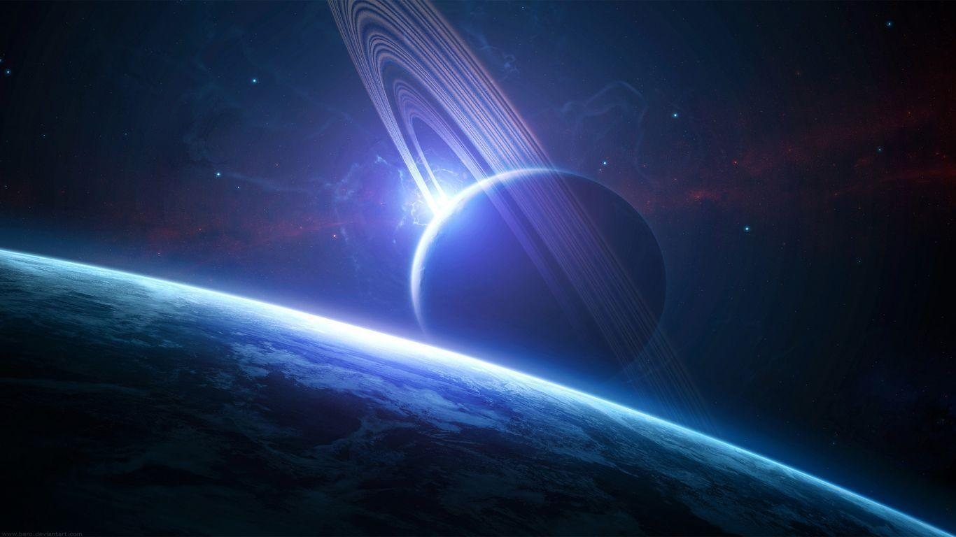 deep space hd wallpaper 1366x768 - photo #7