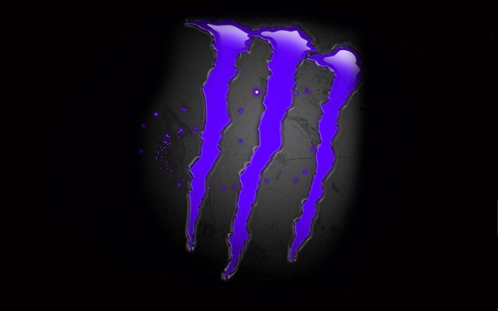 Monster Energy Wallpaper Purple