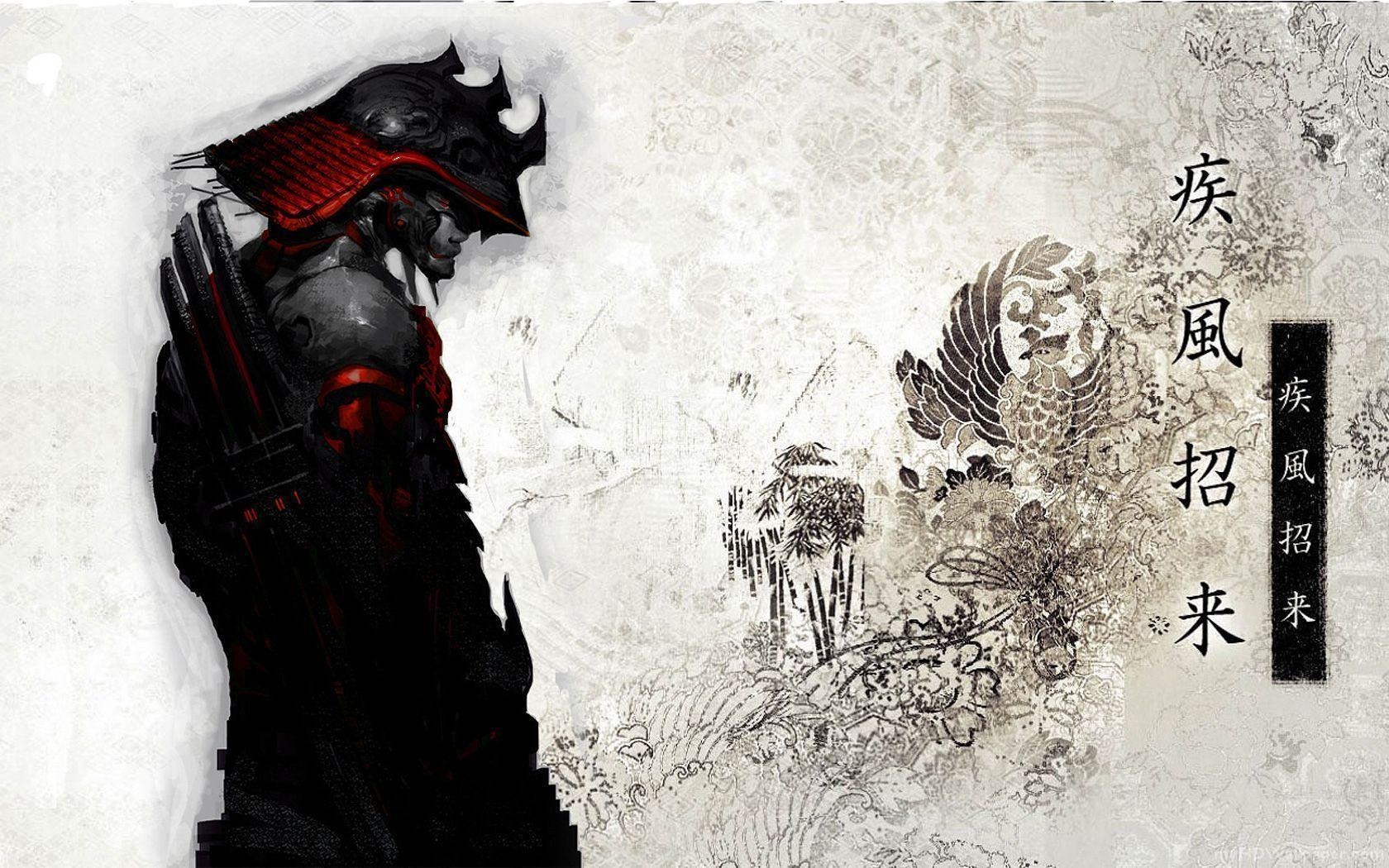 Fantasy Art Ninja Mask Wallpapers Hd Desktop And: Samurai Wallpapers