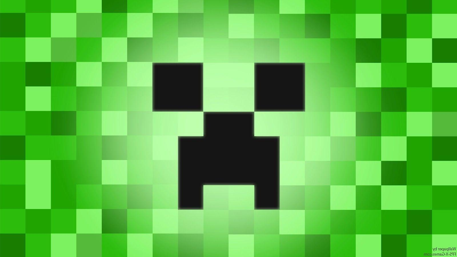 Creeper Face Wallpapers Wallpaper Cave