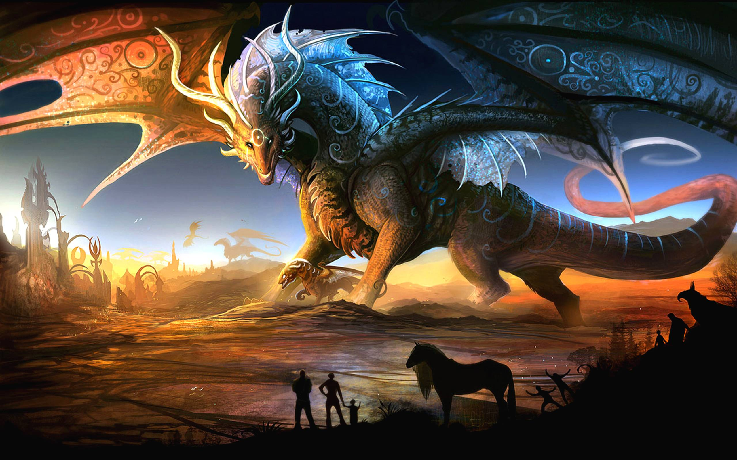 Epic Dragon Fantasy Wallpapers