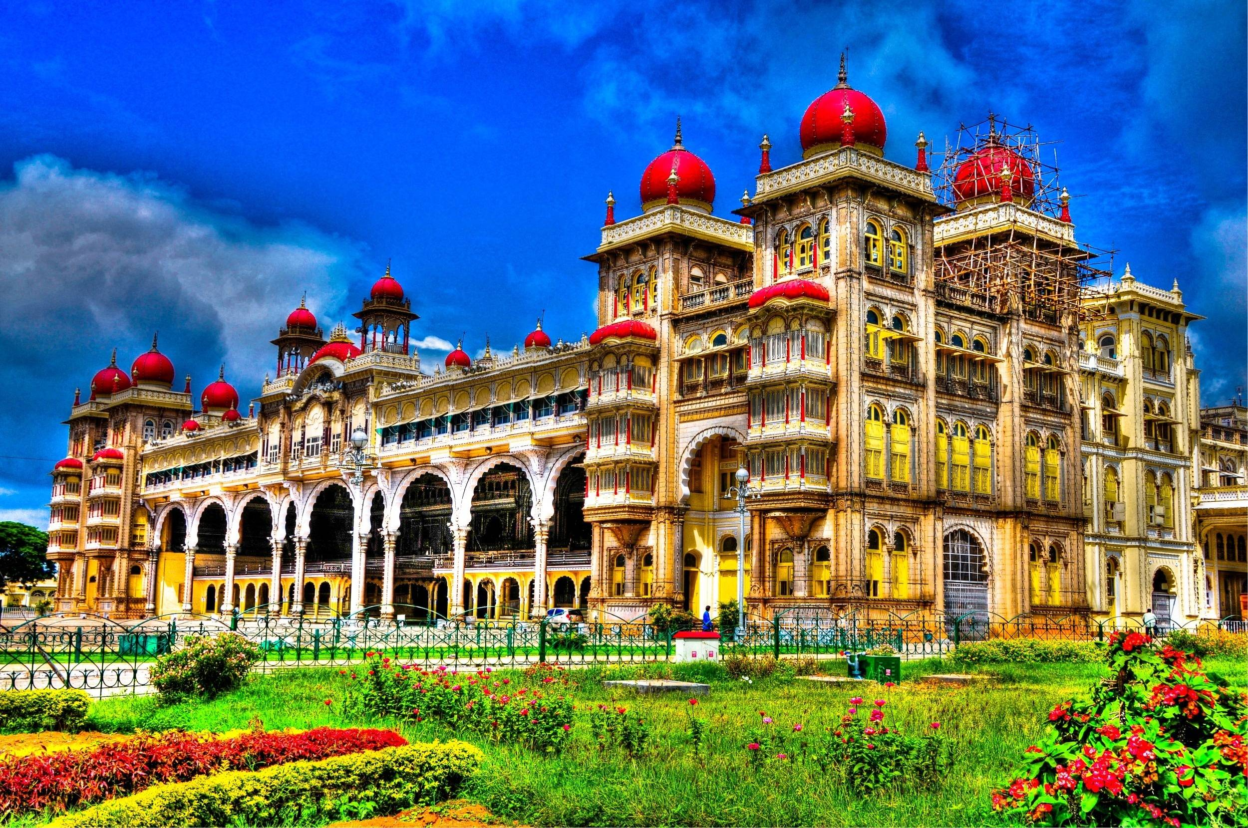 palace-of-mysore-india-most-of-famus-hotel-wallpaper India ...