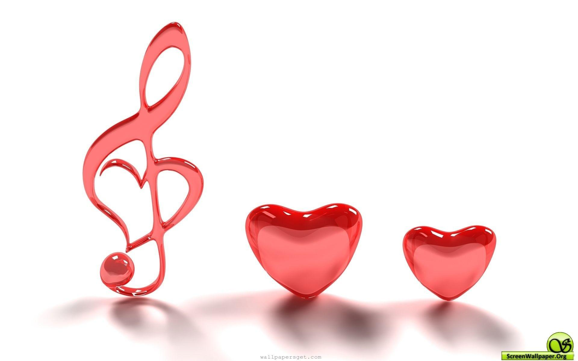 Wallpapers For 3d Heart Free Download