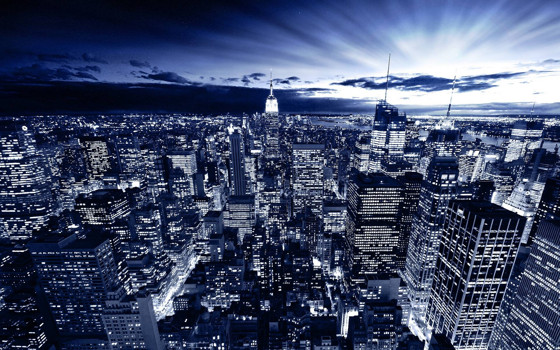 Blue New York City Wallpapers Wallpapers